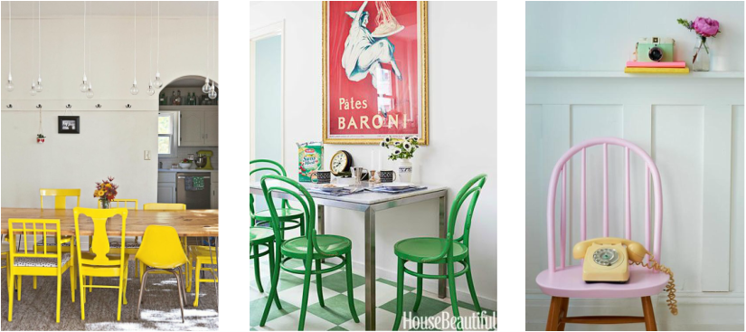 upcycling dining room chairs  - just quietly